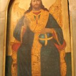 ايقونة السيد المسيح - حامل الأيقونات كنيسة الملاك ميخائيل