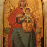 ايقونة السيدة العذراء مريم - حامل الأيقونات كنيسة الملاك ميخائيل
