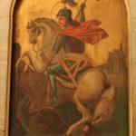 ايقونة مار جرجس - حامل الأيقونات كنيسة الملاك ميخائيل